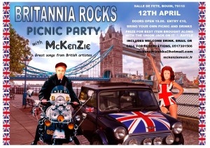 BRITTANIA ROCKS PICNIC PARTY
