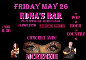 Edna's Bar May 26