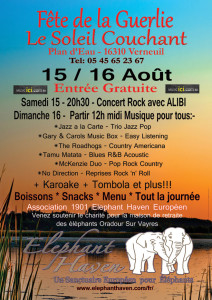 McKenZie Fete de Guerlie August 16th 2015