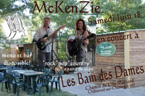 McKenZie at les bain de dames