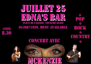 McKenZie Edna's Bar July 25 2015