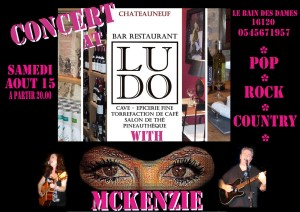 McKenZie Chez Ludo August 15th 2015